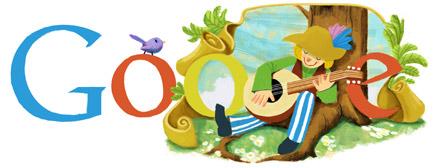 "Google Logo: Miroslav Krleža's Birthday - Croatian writer of the ""Ballads of Petrica Kerempuh"""